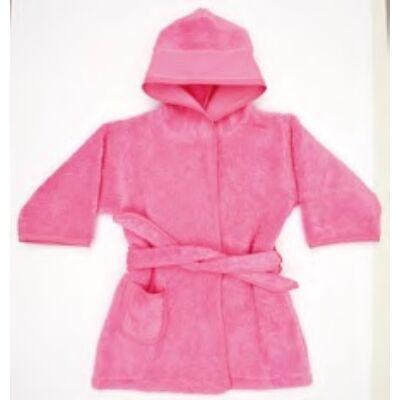 Hímezhető köntös pink színű