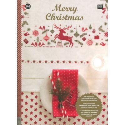 Rico 146-Boldog karácsonyt-keresztszemes mintafüzet