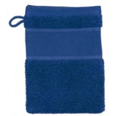 Hímezhető mosakodókesztyű sötét kék