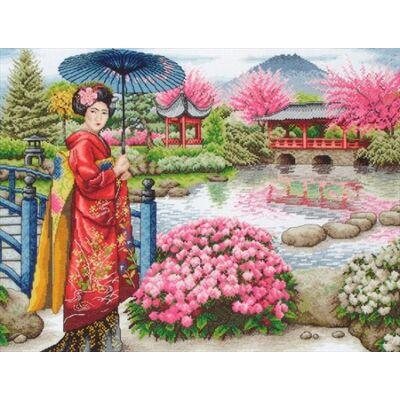 Anchor Maia keresztszemes készlet - Japán kert