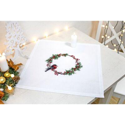 Luka-s keresztszemesen hímezhető karácsonyi terítő készlet