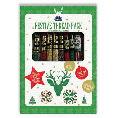Festive Thread Pack - Karácsonyi fonal válogatás