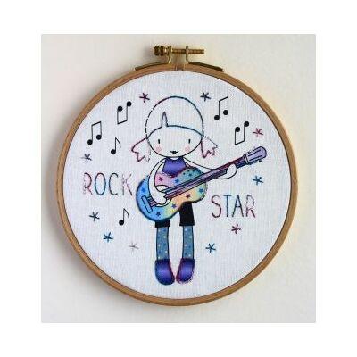 Hímző készlet gyerekeknek - Rock Star