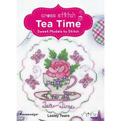 DMC Tea Time keresztszemes mintafüzet