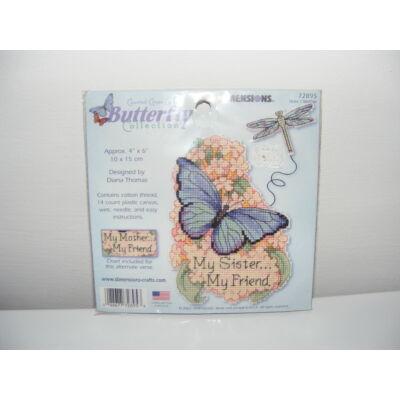 Keresztszemes készlet-Pillangó