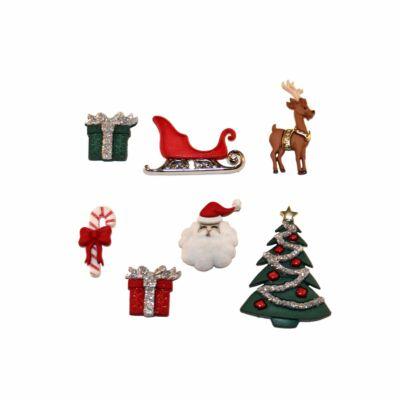 Dress it up- Karácsonyi gombok