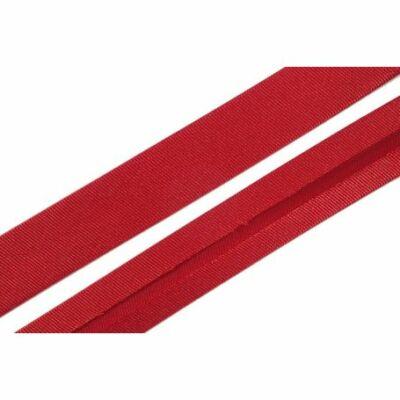 Szatén ferdepánt 2 cm - piros