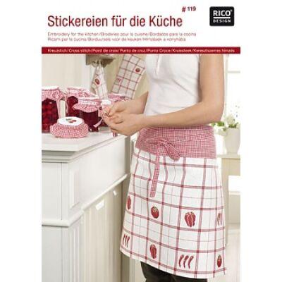 Rico 119-Hímzések a konyhában mintafüzet