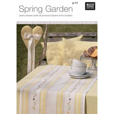 Rico 117-Tavaszi kert mintafüzet