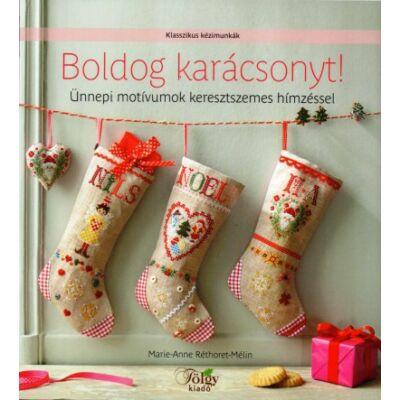 Boldog karácsonyt! Keresztszemes könyv
