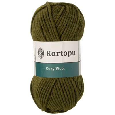 Cozy Wool K410- vastag téli fonal akril gyapjú keverék