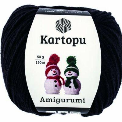 Amigurumi fonal 940 - fekete