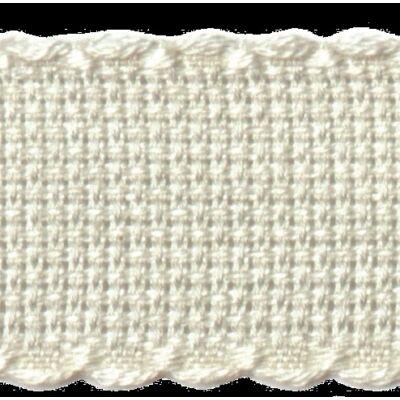 Kongré szalag 5 cm széles-fehér színű-16 ct
