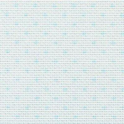 Aida kék pöttyökkel-14 ct 110 cm széles