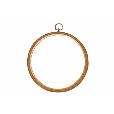 Flexi hoop faerezett hímzőráma- 20 cm