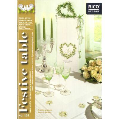 Rico 102-Esküvő-keresztszemes mintafüzet