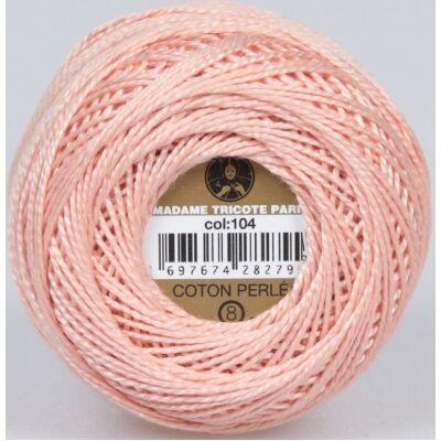 Perlé hímző gyöngyfonal 104 - rózsaszín