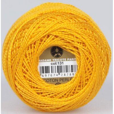Perlé hímző gyöngyfonal 131 - narancssárga