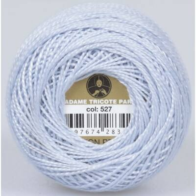 Perlé hímző gyöngyfonal 0527 - halvány szürke