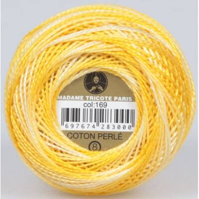 Perlé hímző gyöngyfonal színátmenetes 169