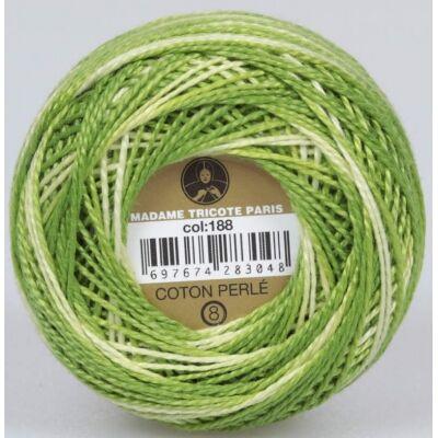 Perlé hímző gyöngyfonal színátmenetes 188