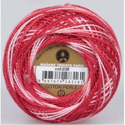 Perlé hímző gyöngyfonal színátmenetes 238