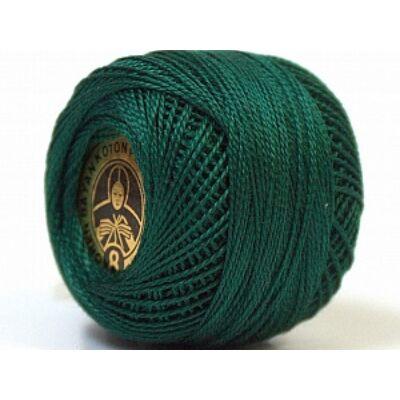 Perlé hímző gyöngyfonal 597 - sötét zöld