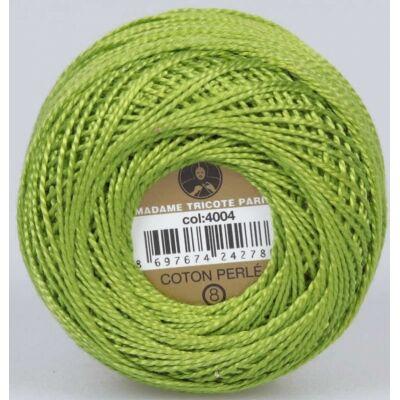 Perlé hímző gyöngyfonal 4004 - zöld