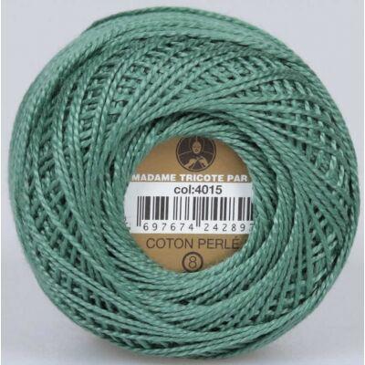 Perlé hímző gyöngyfonal 4015 - zöld