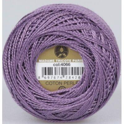 Perlé hímző gyöngyfonal 4066 - lila