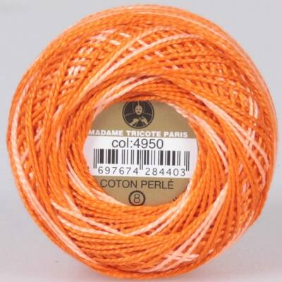 Perlé hímző gyöngyfonal színátmenetes 4950