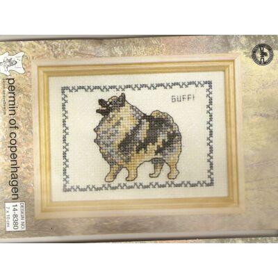 Keresztszemes készlet - Buffy kutya