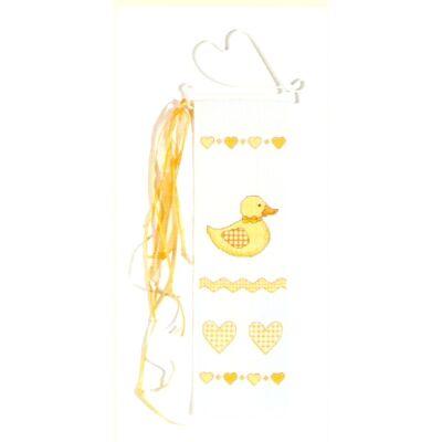 Keresztszemes készlet- Kacsa baby