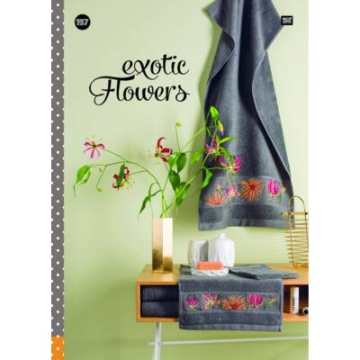 Rico 157 Exotikus virágok mintafüzet
