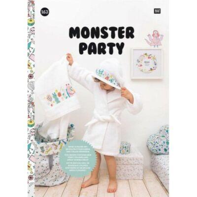 Rico 163 - Monster Party keresztszemes mintafüzet