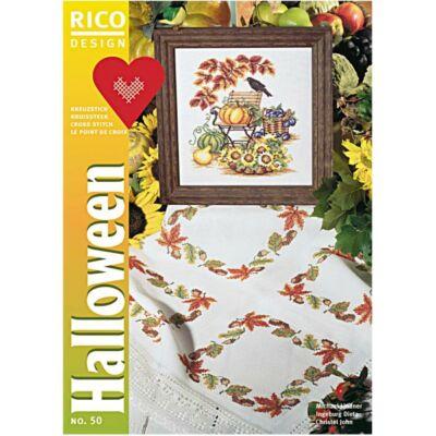 Rico 50 - Halloween keresztszemes mintafüzet