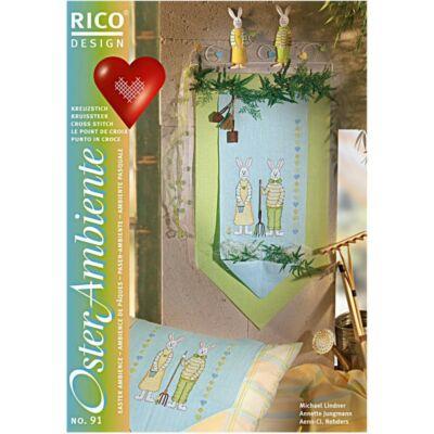 Rico 91 - Húsvéti környezet keresztszemes mintafüzet