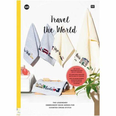 Rico 165 - Travel the world keresztszemes mintafüzet