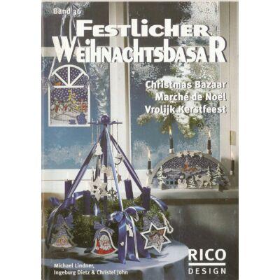 Rico 36 mintafüzet - Ünnepi karácsonyi bazár