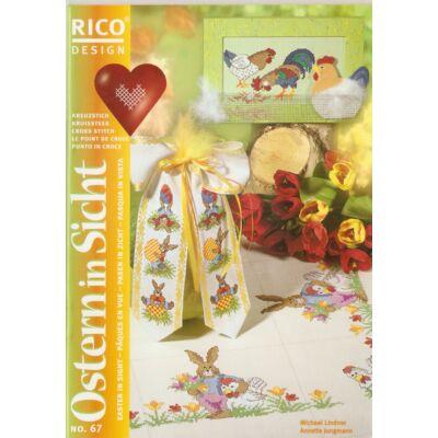 Rico 67 mintafüzet- Húsvétra készülődve