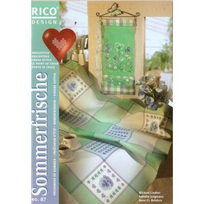 Rico 87 mintafüzet- Nyári frissesség