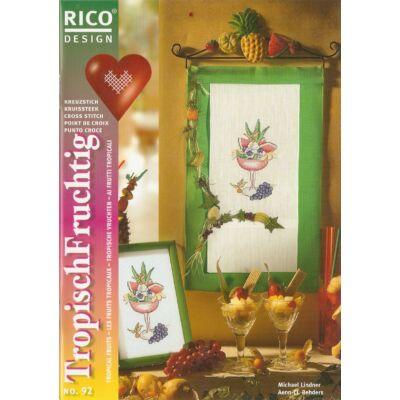 Rico 92 mintafüzet- Trópusi gyümölcsök