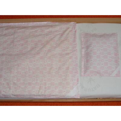 Hímezhető ágynemű-Állatos rózsaszín