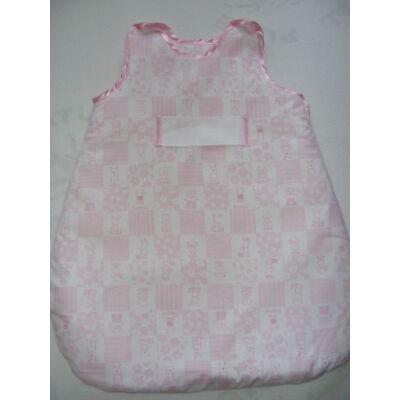 Hímezhető hálózsák-Állatos rózsaszín