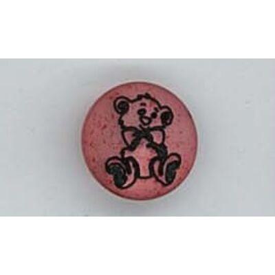 Gomb-Macis rózsaszín