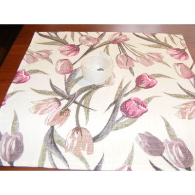 Hímezhető rongyszalvéta-tulipános