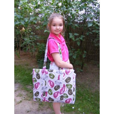 Gyerek napozó táska-leveles
