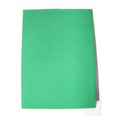 Aida zöld 18 ct 43x50