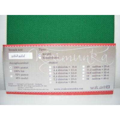 Aida zöld 16 ct 43x46