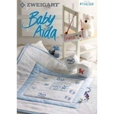 Zweigart 104/268 - Baby aida keresztszemes mintafüzet